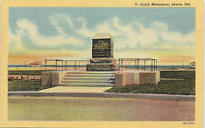 Lewes, Delaware, Dutch Monument - Postcard (RR)