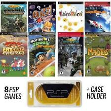 PSP PREMIUM 8 Game Bundle with Free UMD Case Holder - Holiday Special - NEW!