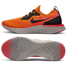 Nike Women's Epic React Flyknit Running Shoes Citrus / Black AQ0070-800 Size: 7