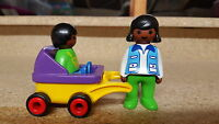 playmobil 123 plane motorbike boat tractor racing car farmer luggage fire engine