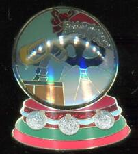 DSF Christmas 2012 Snowglobe with Wall-E and Eve LE 300 Disney Pin 93583