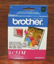 Brother (LC51M) Magenta Ink Cartridge Sealed In Box (400 Page Yield) *EXPIRED*