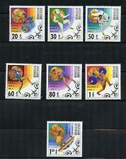 W386  Mongolia  1980   Olympics   7v.     MNH