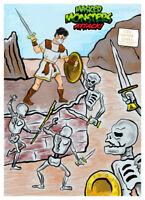 Masked MONSTERS ATTACK #11 Jason Argonauts Wax Digital TRADING CARD lk topps gpk