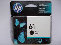 GENUINE HP61 (CH561WN) Black Ink Cartridge EXP. 2020