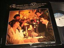 BEETHOVEN°BACH<>DINING WITH...<>Lp Vinyl~Canada Pressing~SELECT STR 8002