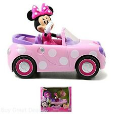 New Pink Minnie Mouse RC Vehicle Remote Controlled Car For Girls 4 Years Up