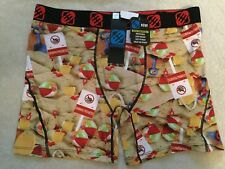 NWT FREEGUN LIGHT WEIGHT BREATHABLE RED BLUE BALLS BOXER BRIEFS MEN'S SIZE LARGE