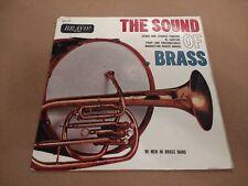 "99 MEN IN BRASS BAND "" THE SOUND OF BRASS "" 7"" EP EXCELLENT BRAVO 1964"