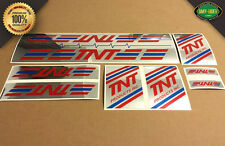 TNT Products Inc. BMX Decal Stickers - 1986 - 1990 - Pro, Pro XL, LongFellow