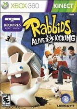 Rabbids: Alive & Kicking Xbox 360 Kinect Brand New Fast Ship (X2-1094)