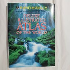 Deluxe Illustrated Atlas of the World Rand McNally Hard Cover 1989 Edition
