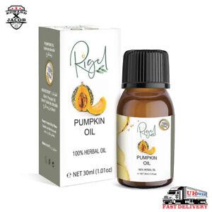RIGEL 100% Herbal Pumpkin Seed Oil | Pumpkin Seed Oil For Hair Loss - 30ml