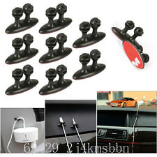 16Pcs Car Wire Cord Cable Holder Tie Clips Line Fixer Organizer Drop Adhesive