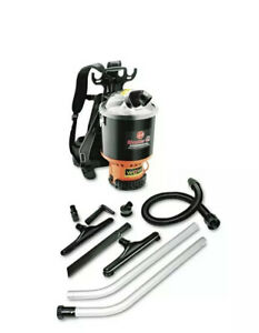 Hoover Commercial Backpack Vacuum Cleaner Lightweight Black C2401 OPEN BOX