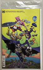 DC Batman Fortnite Zero Point # 1  Variant Card Stock Cover B Sealed w/ Code