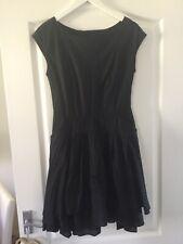 Warehouse Ladies Black Dress Size 10