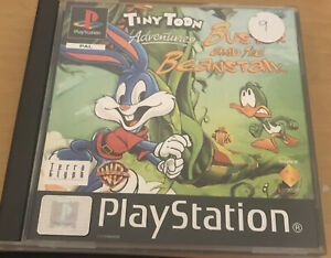 Tiny Toon Adventures Buster and the Beanstalk - Sony Playstation 1  FREE POSTAGE