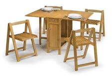 Traditional Up to 4 Seats Table & Chair Sets with Flat Pack