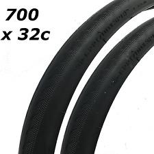 2x Bicyclette pneus vélo Pneus - route City vélo - 700 X 32C - haute qualité
