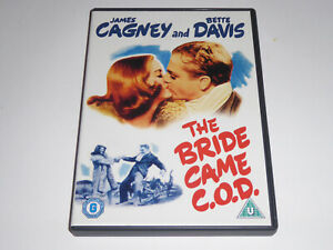 The Bride Came C.O.D (1941) - James Cagney - GENUINE UK DVD - EXCEL CONDIT cod