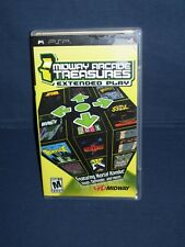 Midway Arcade Treasures Extended Play PSP Case and Manual Only