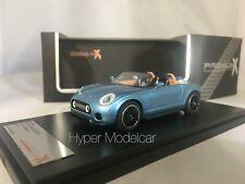 PREMIUM X 1/43 Mini Superleggera Vision Concept 2014 Blue Met. Art. PR0480