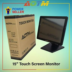 """ePOS POS 15"""" Touch Screen LCD Monitor for restaurant, retails and Hospitality"""