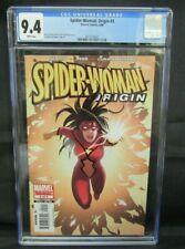 Spider-Woman: Origin #5 (2006) Luna Bros Cover Marvel CGC 9.4 CE495