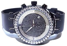 Joe Rodeo Master 2.00 ct Diamond Bezel Womens Black Watch JJML10