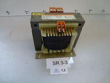 Bürkle+Schöck BGr ER5049 Transformer KVA 0,630 primary 400V 1,8A sec 230V 2,74A