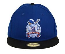 New Era 59Fifty Size 8 New York Mets Mike Piazza Fitted Cap Hat Royal Blue