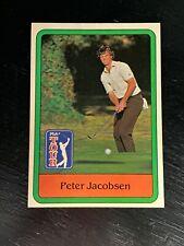 1981 Donruss PGA Tour Golf Trading Card Peter Jacobsen #26