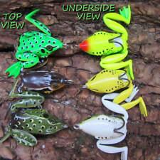 3 x surface SUPER FROGS savage fishing lure bait pike chub perch candy plug gear