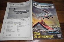 FLIEGERGESCHICHTEN  # 39 -- PATRICK, der RETTUNGSENGEL // Moewig 1955