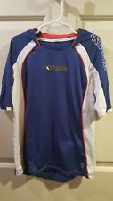 Kipsta Blue France National Soccer Jersey Shirt Boys SIze 10, preowned