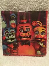 16 ct. 2 Ply Party Napkins FIVE NIGHTS At FREDDY'S Combined Ship! Supplies NIP