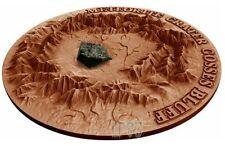 2017 1 Oz Silver GOSSES BLUFF Meteorite Crater Coin 1$ Niue Island.