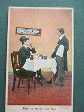 VINTAGE CADBURY'S COCOA ADVERTISING PC - BAMFORTHS 1294