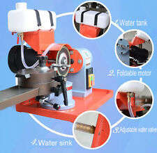NEW 220V Water Injection Electric Circular Saw Blade Sharpener +one piece gift
