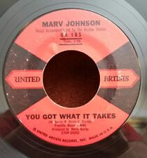 """Marv Johnson United Artists 185 """"YOU GOT WHAT IT TAKES"""" (SOUL) MAKE OFFER"""