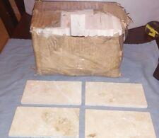 "New 3"" x 6"" Ceramic Subway Tile White/Marble Color 48 Pieces/6 Sq Ft Per Box"