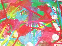Lot Destockage x10 Tapette à Mouches Moustiques Plastique 44 cm
