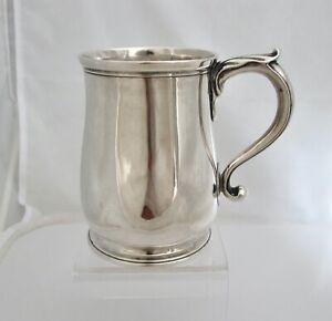 Rare Irish George II silver mug William Williamson II Dublin c1740