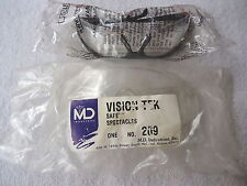 "Pair Of 2 Safety Glasses "" NIP"""