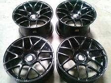 "Porsche Ruger Mesh Black 20"" wheels rims 911/987/997/991 Cayman Carrera Turbo"