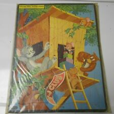 1954 Whitman TOM & JERRY Frame Tray PUZZLE #2628:29 FN-