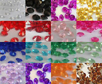 Wedding/Party Table Gems/Confetti/Decorations Crystals/Diamonds 6.5mm 1Carat
