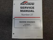 1998 MerCruiser #27 Marine Engines V-8 V8 Diesel D7.3L D-Tronic Service Manual
