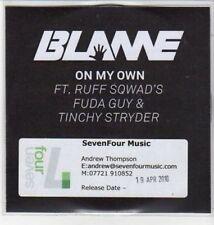 (BS12) Blame, On My Own - DJ CD
